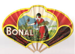 Eventail Publicitaire Bonal Alcool Gentiane - Publicidad