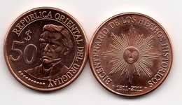 Uruguay - 50 Pesos 2011 UNC Comm. Lemberg-Zp - Uruguay