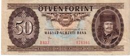 Hungary P.170g 50 Forint 1980 Xf - Ungheria