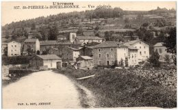 63 SAINT-PIERRE-la-BOURLHONNE - Vue Générale - France