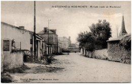 44 SAINT-ETIENNE-de-ER-MORTE - Arrivée Route De Machecoul - Francia