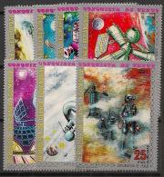 Guinée  équatoriale - 1973 - N°Mi. 217 à 223 - Conquète De Vénus - Neuf Luxe ** / MNH / Postfrisch - Equatorial Guinea