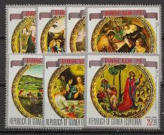 Guinée  équatoriale - 1973 - N°Mi. 245 à 251 - Pâques - Neuf Luxe ** / MNH / Postfrisch - Equatorial Guinea