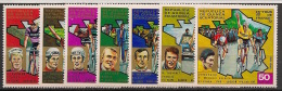 Guinée  équatoriale - 1973 - N°Mi. 259 à 265 - Tour De France - Neuf Luxe ** / MNH / Postfrisch - Equatorial Guinea