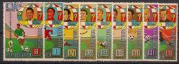 Guinée  équatoriale - 1973 - N°Mi. 307 à 315 - Football WM 74- Neuf Luxe ** / MNH / Postfrisch - Equatorial Guinea