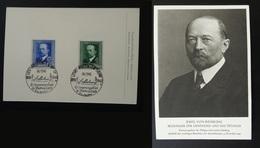 Carte Maximum Card Emil Von Bering Prix Nobel Medecine Allemagne Reich 1940 - Briefe U. Dokumente