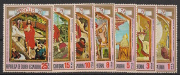 Guinée  équatoriale - 1974 - N°Mi. 347 à 353 - Pâques - Neuf Luxe ** / MNH / Postfrisch - Equatorial Guinea