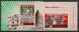 Guinée  équatoriale - 1974 - N°Mi. BLoc 105 à 106 - Année Sainte - Neuf Luxe ** / MNH / Postfrisch - Equatorial Guinea