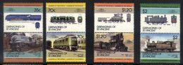 A35 - Grenadines Of St Vincent - 1985 - SG 412/419 - Railways Locomotives - Trains