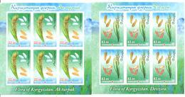 2017. Kyrgyzstan, Flora Of Kyrgyzstan, Rice, 2 Sheetlets  Imperforated, Mint/** - Kyrgyzstan