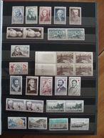 LOT 689 TIMBRES FRANCE NEUFS ** FIN ANNEES 40 A 1959 ET PHILATEC 64 . VOIR TOUTES LES PHOTOS - France