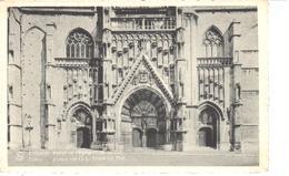 Tienen - CPA - Tirlemont - Portail De L'Eglise N. D. Au Lac - Tienen