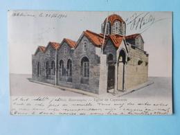 Grèce 1906 Eglise De Capnicaréa - Grèce
