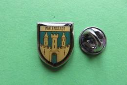Pin's, Ville, Blason, WALENSTADT, Suisse, Wappen, - Cities