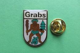 Pin's, Ville, Blason, GRABS, Suisse, Wappen, - Cities