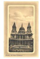Inghilterra London Londra St. Paul's Cathedral Viaggiata 1914 - St. Paul's Cathedral