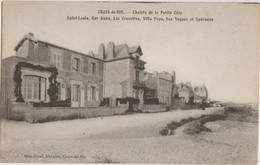 CPA 85 CROIX DE VIE Chalets De La Petite Côte Saint Louis Ker Anna Villa Popo Les Vagues Et Spéranza 1920 - Saint Gilles Croix De Vie