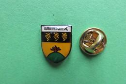 Pin's, Ville, Blason, BERNEX, Suisse, Wappen, - Cities