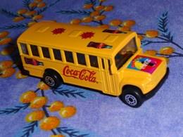 Bus Scolaire Américain Pub Coca Cola - Toys