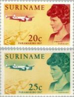 Suriname 1967  Bezoek Emelia Earhart - NVPH  477 Ongestempeld - Suriname ... - 1975