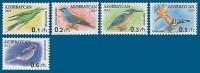 Azerbaïjan 2013 Mih. 1009/13 Definitive Issue. Fauna. Birds MNH ** - Azerbaïjan