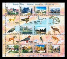 Kyrgyzstan 2003 Mih. 343/52 Issyk Kul Resorts. Fauna MNH ** - Kyrgyzstan
