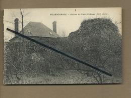 CPA Souple   - Bellencombre  -  Ruines Du Vieux Château (XIIIe Siècle) - Bellencombre
