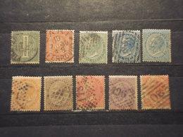 ITALIA REGNO - 1866 CIFRA E RE 9 + 1   VALORI - TIMBRATI/USED - Usati
