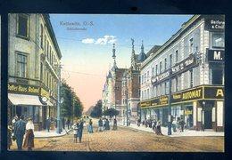 Cpa De Pologne Kattowitz , O.-S. Schlossstrasse  ............  Katowice Katowicy     MARS18-02 - Pologne