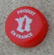 France Capsule Plastique à Visser Coca Cola Produit En France - Soda