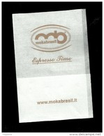 Tovagliolino Da Caffè - Mokabrasil - Company Logo Napkins