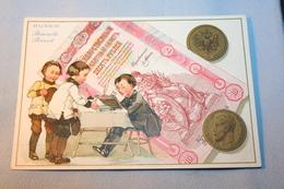 """Lot De 2 Cartes De 1906 """"Biscuits Pernot"""" - Werbung"""