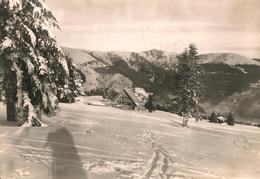 CPA-1955-68-SCHNEPFENRIED-STATION De SPORTS D HIVER-HOTEL BELLE VUE--TBE - France
