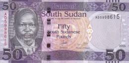 SOUTH SUDAN 50 POUND 2015 P- New UNC */* - South Sudan