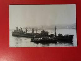 USS Chikaskia (AO-54) Was A Cimarron-class Fleet Oiler - Year 1967 - Boats