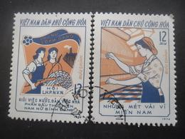 VIET NAM DU NORD N°813 Et 814 Oblitérés - Vietnam