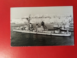 USS Laffey (DD-724) Was An Allen M. Sumner-class Destroyer - Year 1970 - Boats