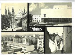 Lituania Vilnius Non Viaggiata - Lituania