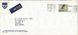 Australia Cover Sent Air Mail To Germany Sydney 15-11-1966 Single Franked - 1980-89 Elizabeth II