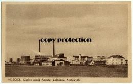 Moscice, Ogolny Widok Panstw. Zakladow Azotowych, Tarnow, Alte Postkarte 1940 - Pologne