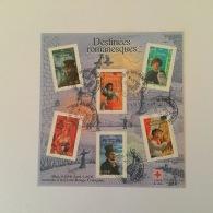 FRANCE 2003 Personnages De La Literature Francaise Feuillet Oblitere  FU Yv60 - Gebraucht