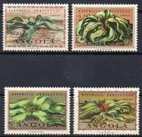 Angola 1959  MiNr. 419/ 422   **/ Mnh  ;  Welwitschia Mirabilis - Pflanzen Und Botanik