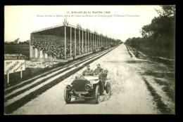 Circuit De La SARTHE  1906 - 41 : Route ... Entre St.-MARS -LA-BRIERE Et CHAMPAGNE (Tribunes Mancelles) - Le Mans