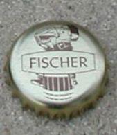 France Capsule Bière Beer Crown Cap Fischer - Cerveza