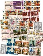 BLOCKS : Q021/22/23  -   45 Used Blocks Of 4/6/12 Pieces - All World - Collezioni (senza Album)