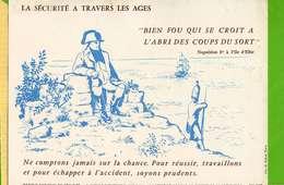 BUVARD & Blotting Paper  : La Securité A Travers Les Ages Napoleon 1Er A L'ile D'ELBE N°167 - Transports