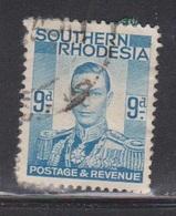 SOUTHERN RHODESIA Scott # 48 Used - KGVI Definitive - Rhodésie Du Sud (...-1964)