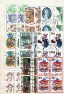 BLOCKS : Q006/7/8/9/10  -  50/60 Used Blocks Of 4/6 Pieces : All World - Francobolli