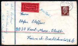 3449 - Beleg - Quedlinburg - Einschreiben 1971 Nach Karl Marx Stadt Bahnpost Bahnpoststempel - DDR