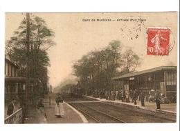 Gare De Nanterre - Arrivée D'un Train 1910 - Nanterre